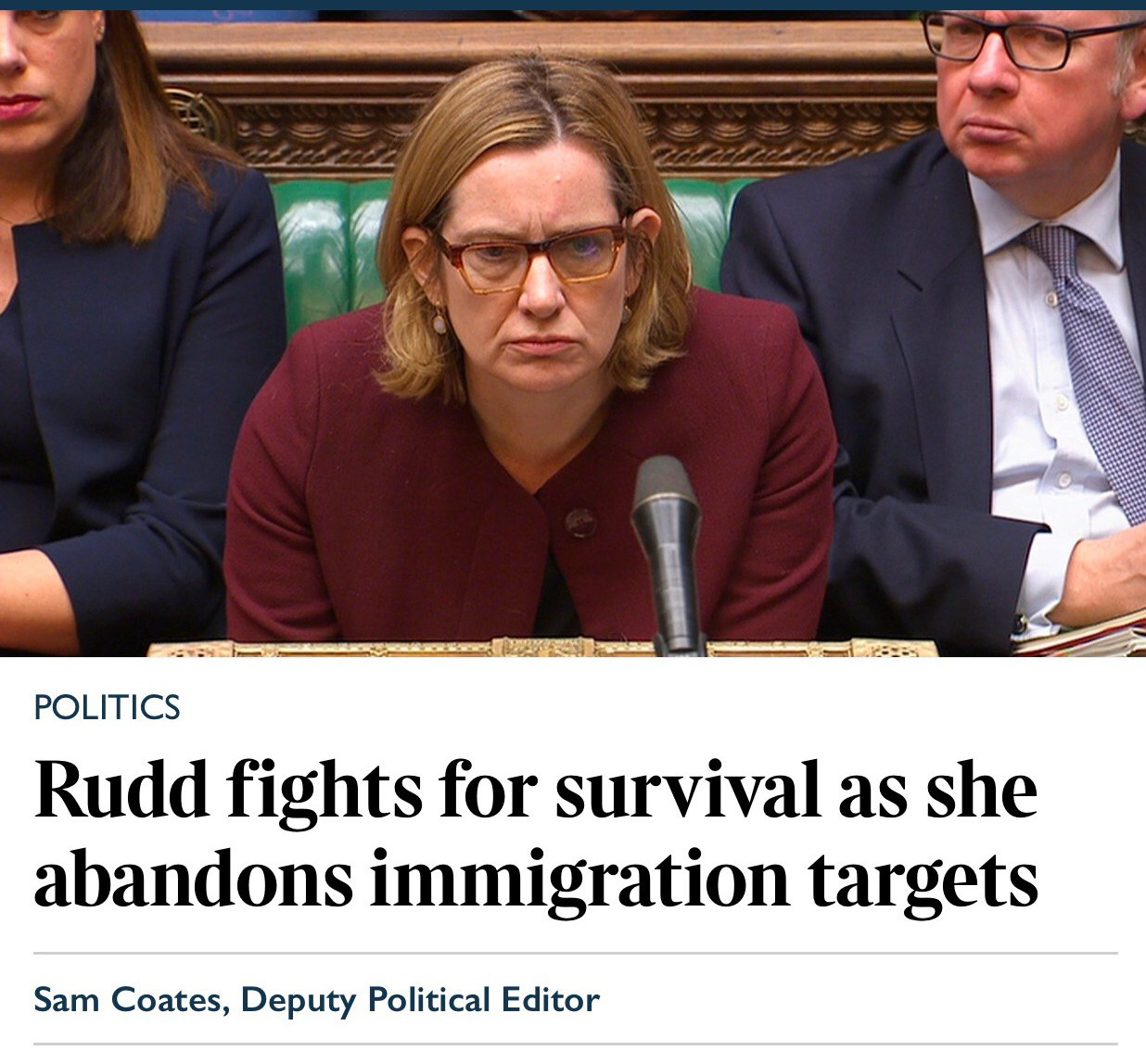 Amber Rudd battles through as calls for resignation grow – but she's not the only Hastings politician making national headlines