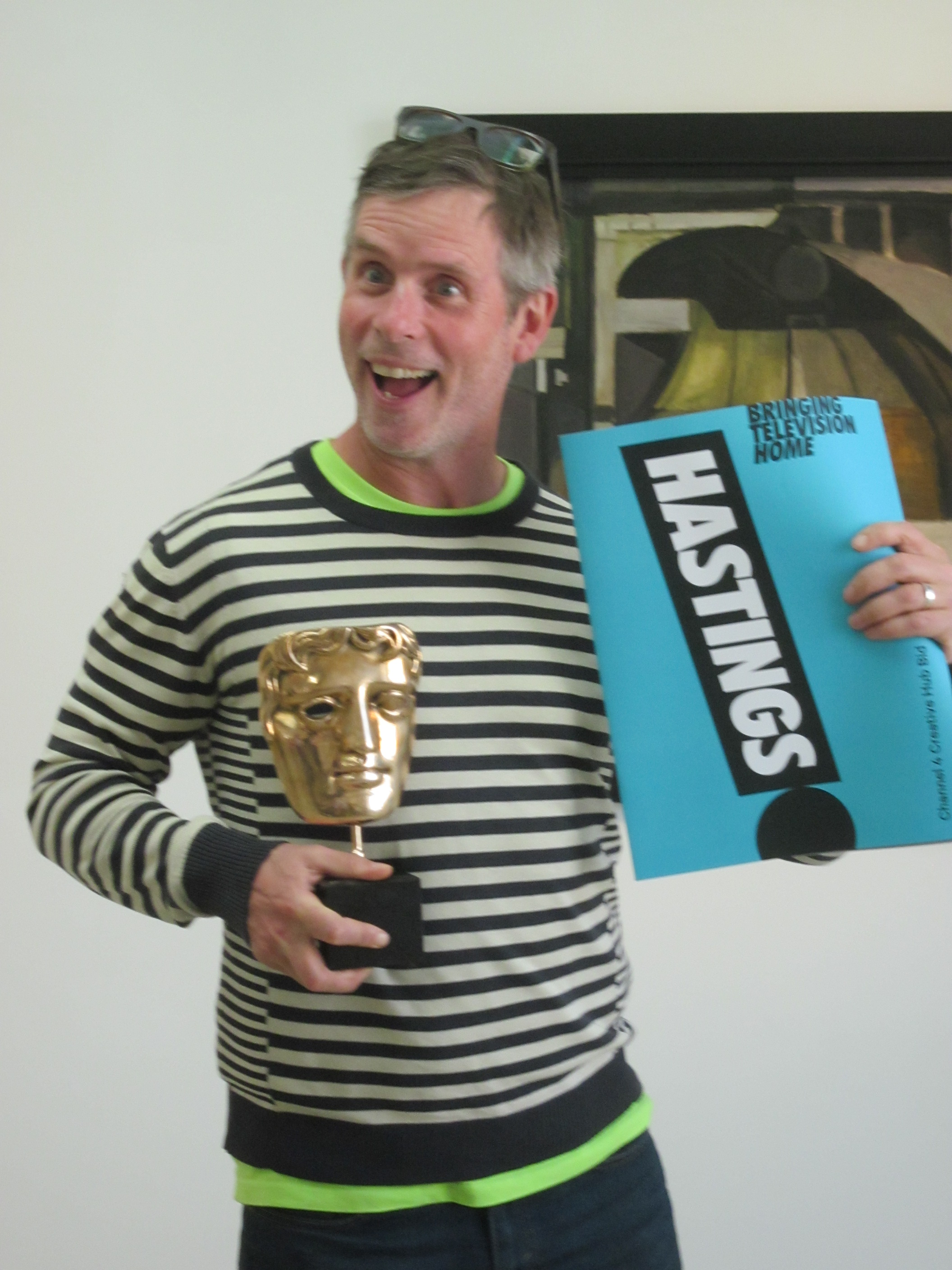 Bringing TV home! BAFTA winning director supports bid to bring C4 to town