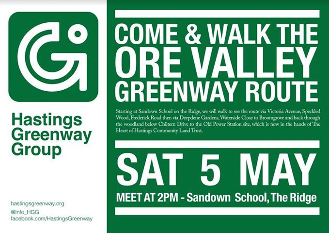 Roll up, roll up! Join the greenway walk on Saturday