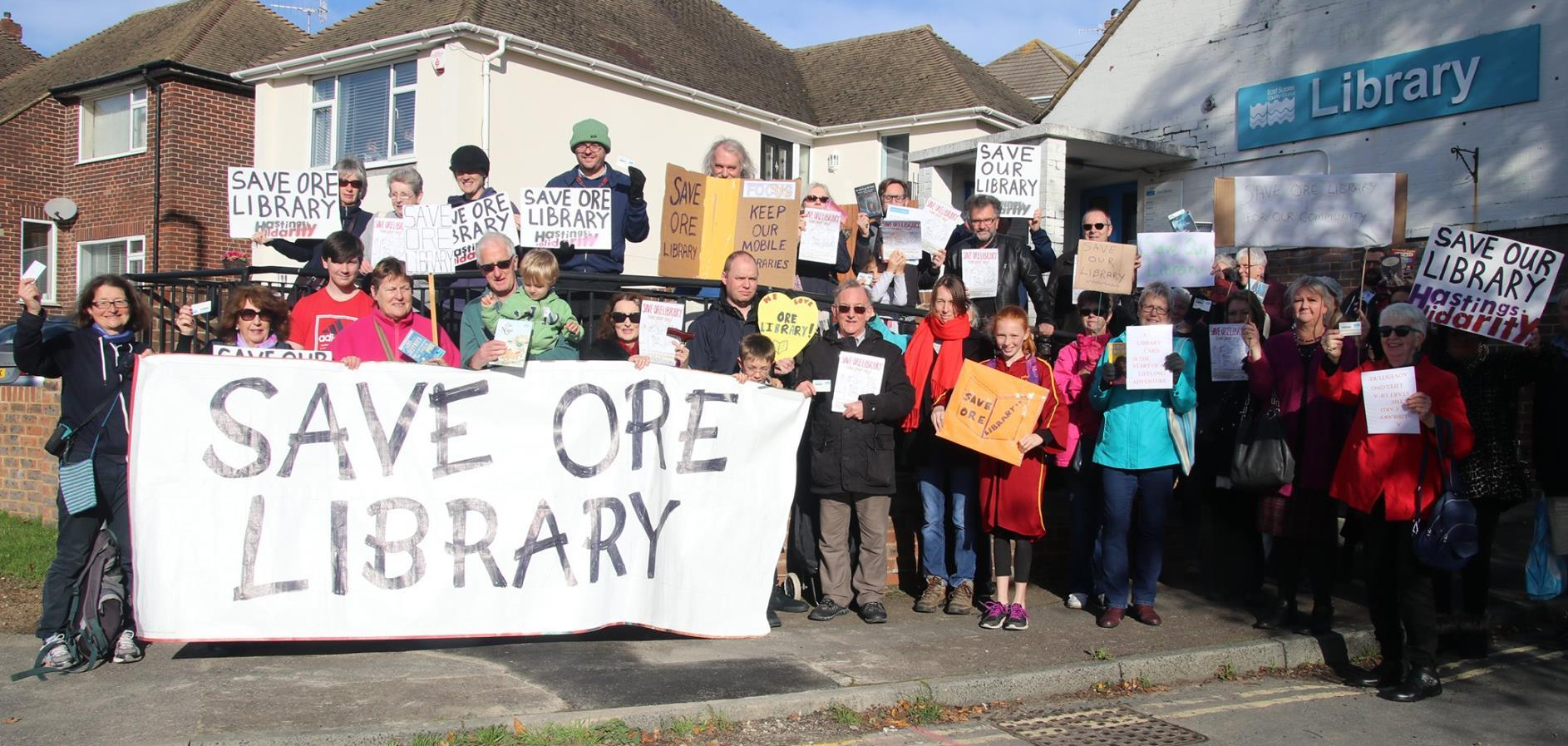 When will the doors of Ore Library finally reopen?