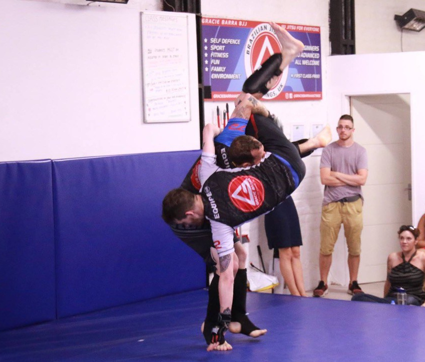 Up for the challenge – martial artists show determination and courage