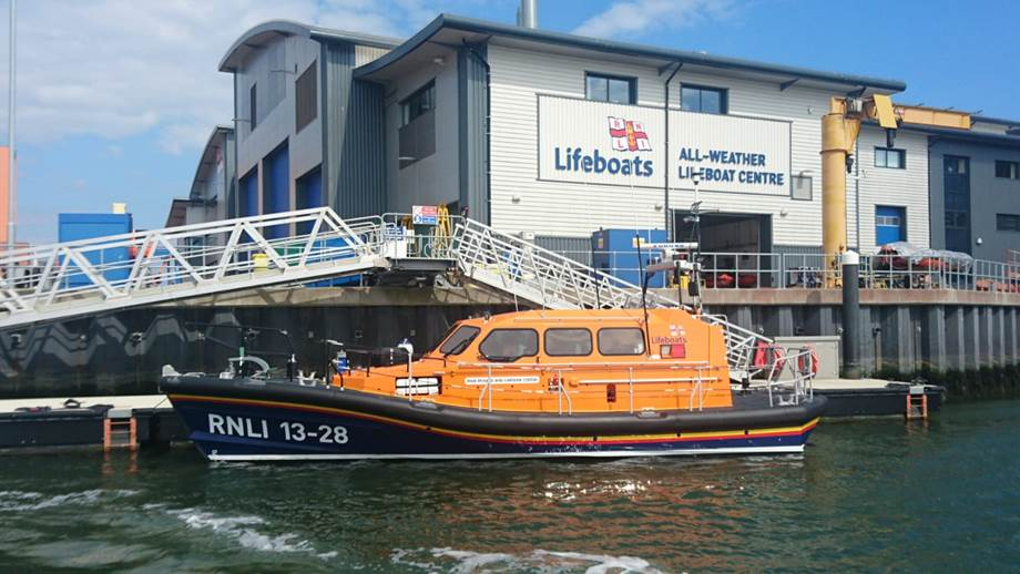 Town's new hi-tech lifeboat arrives in October