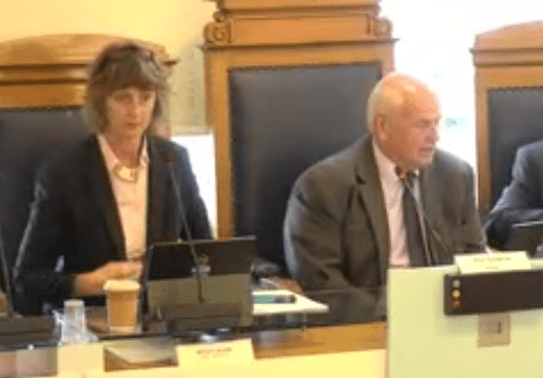 Godfrey tells council: 'This is what austerity looks like'