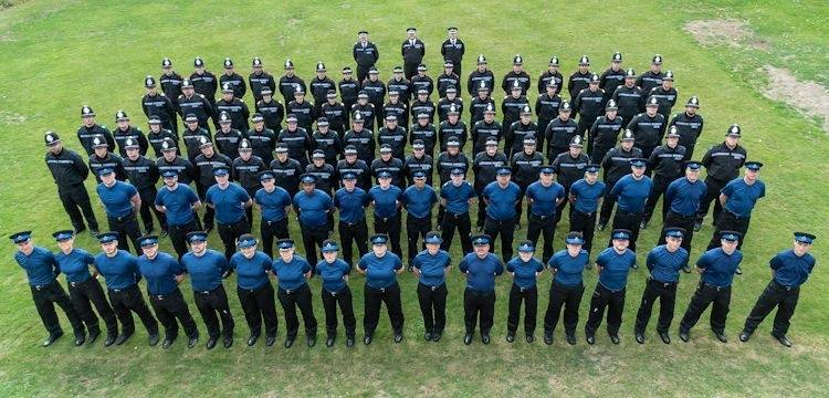 Beefing up the 'thin blue line'… recruits will be on the streets by Christmas