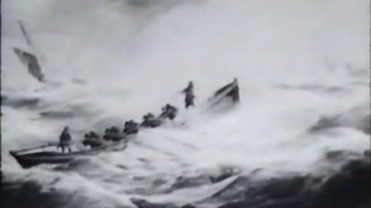 Riders on the storm! We salute the men and women of Hastings lifeboat station