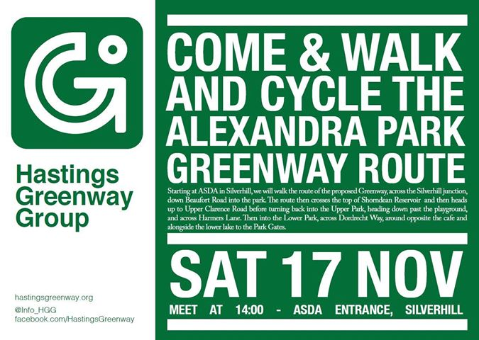 Join the Greenway Group this weekend at Silverhill