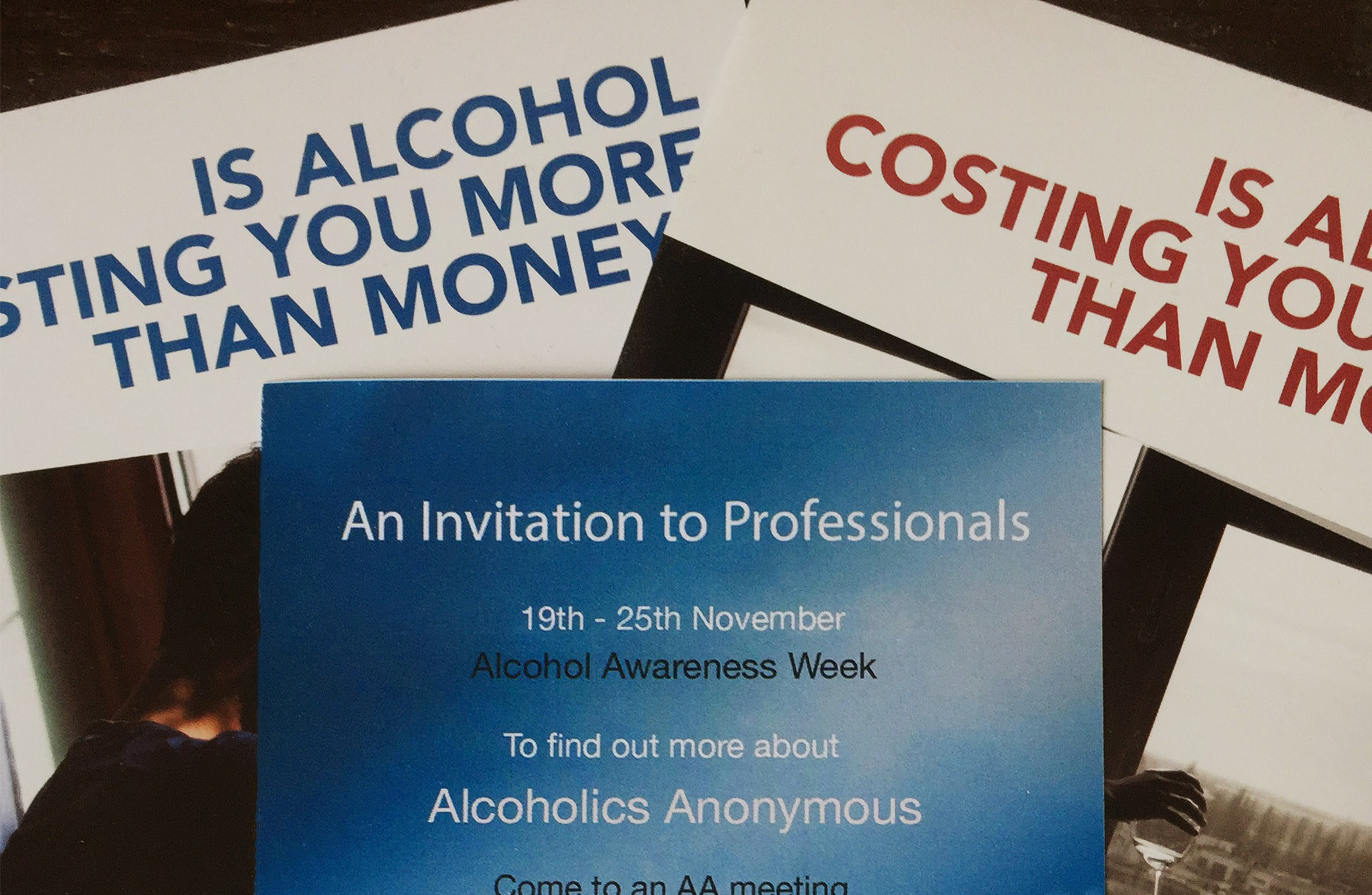 Alcohol Awareness Week – Alcoholics Anonymous opens its meetings