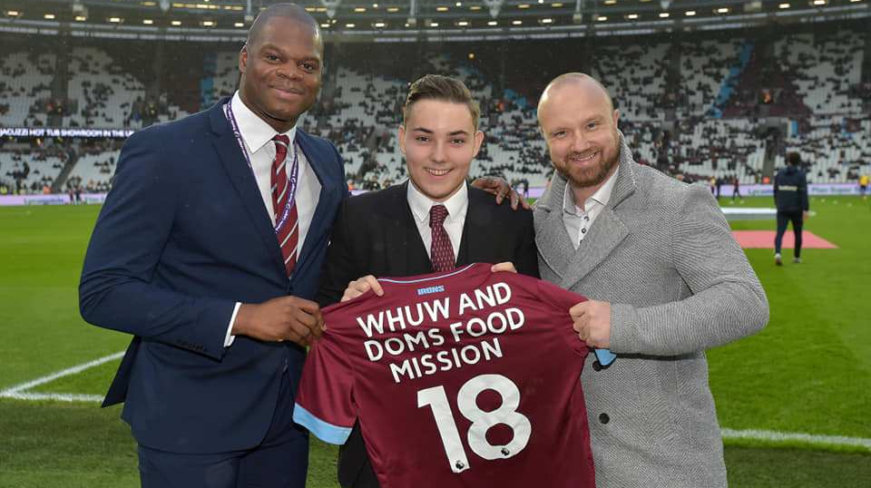 Dom's Food Mission becomes West Ham women's first charity partner