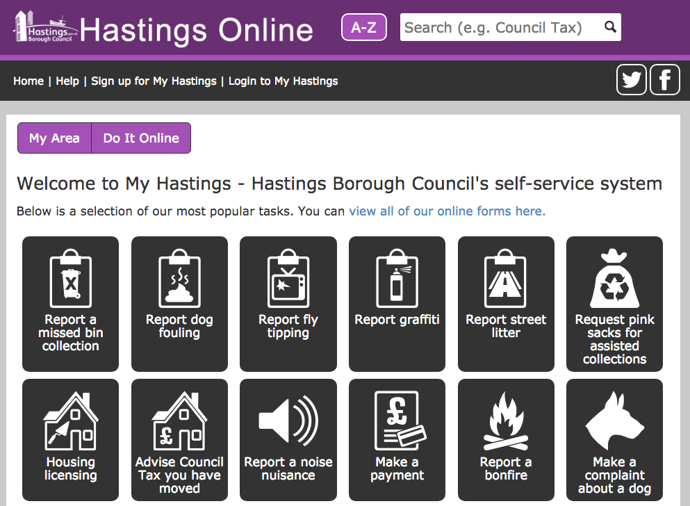 My Hastings is proving a hit