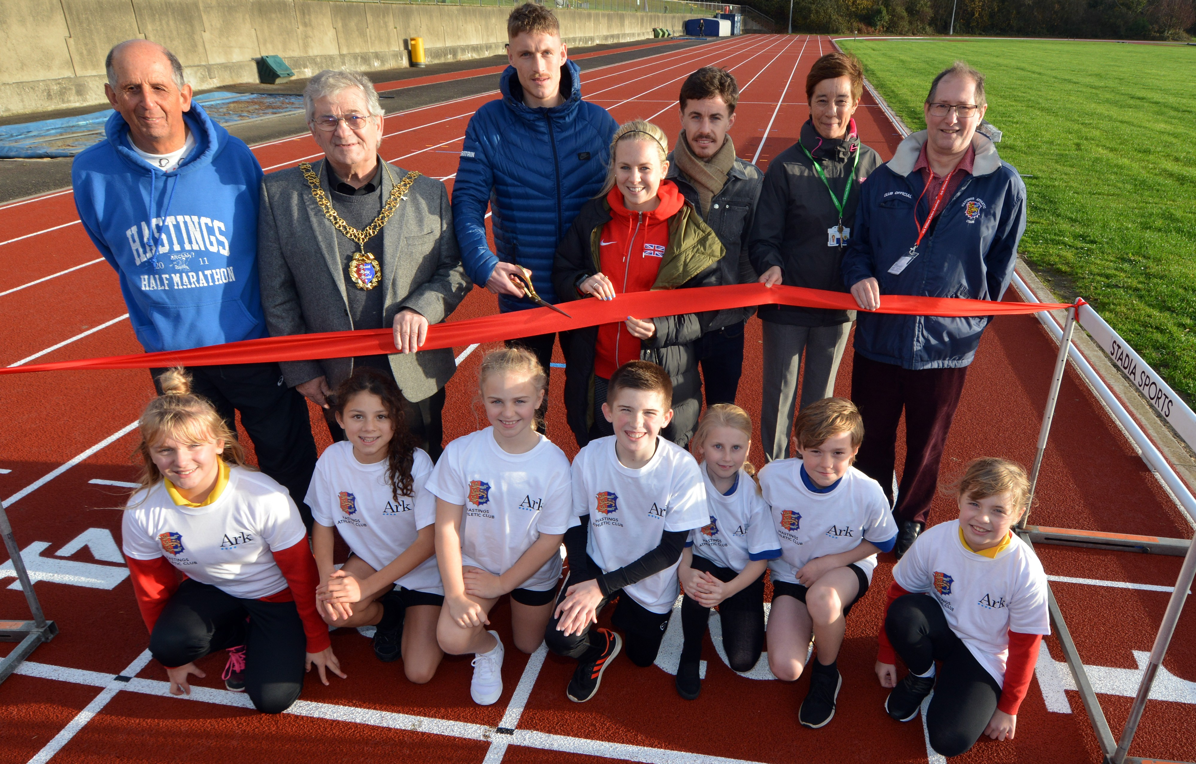 William Parker and Hastings Athletic club are back on track
