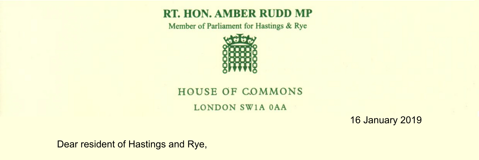 MP writes open letter to constituents pledging continued support for beleaguered PM