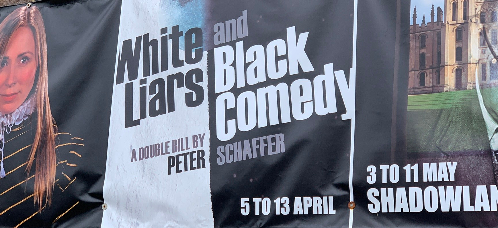 Coming up at The Stables – White Liars and Black Comedy