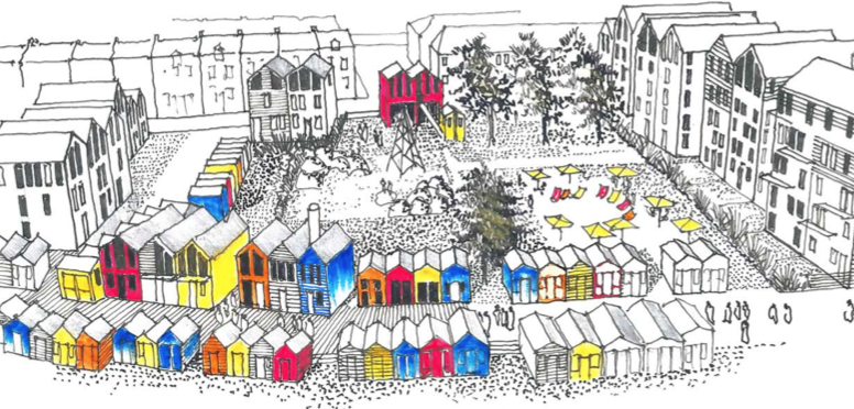 Bathing pool site should be 'humorous place of colour and delight'