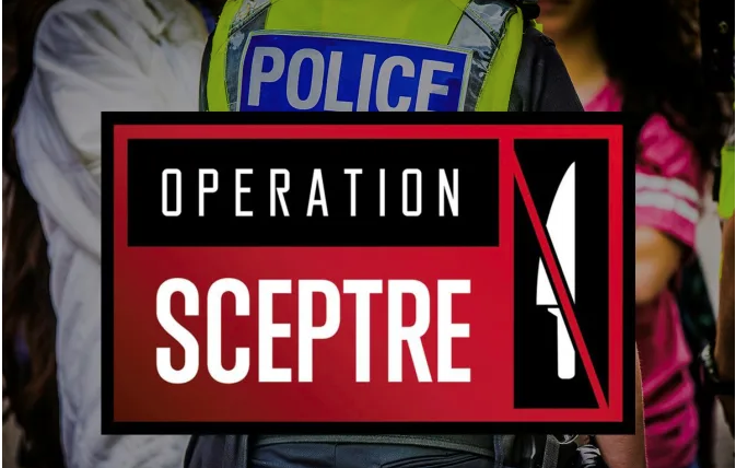 Getting knives off our streets – Operation Sceptre success!