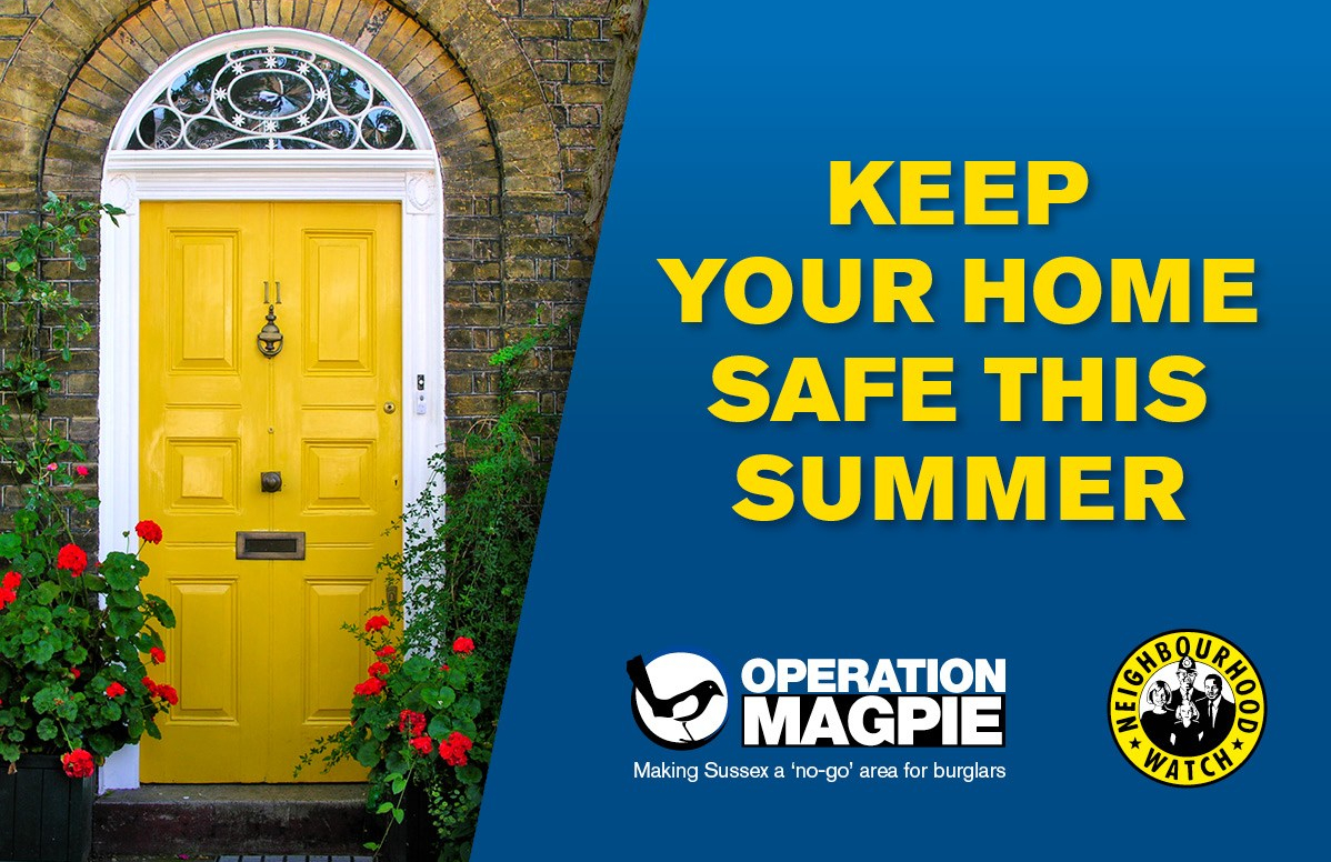 Operation Magpie – helping Sussex keep the threat of burglary at bay
