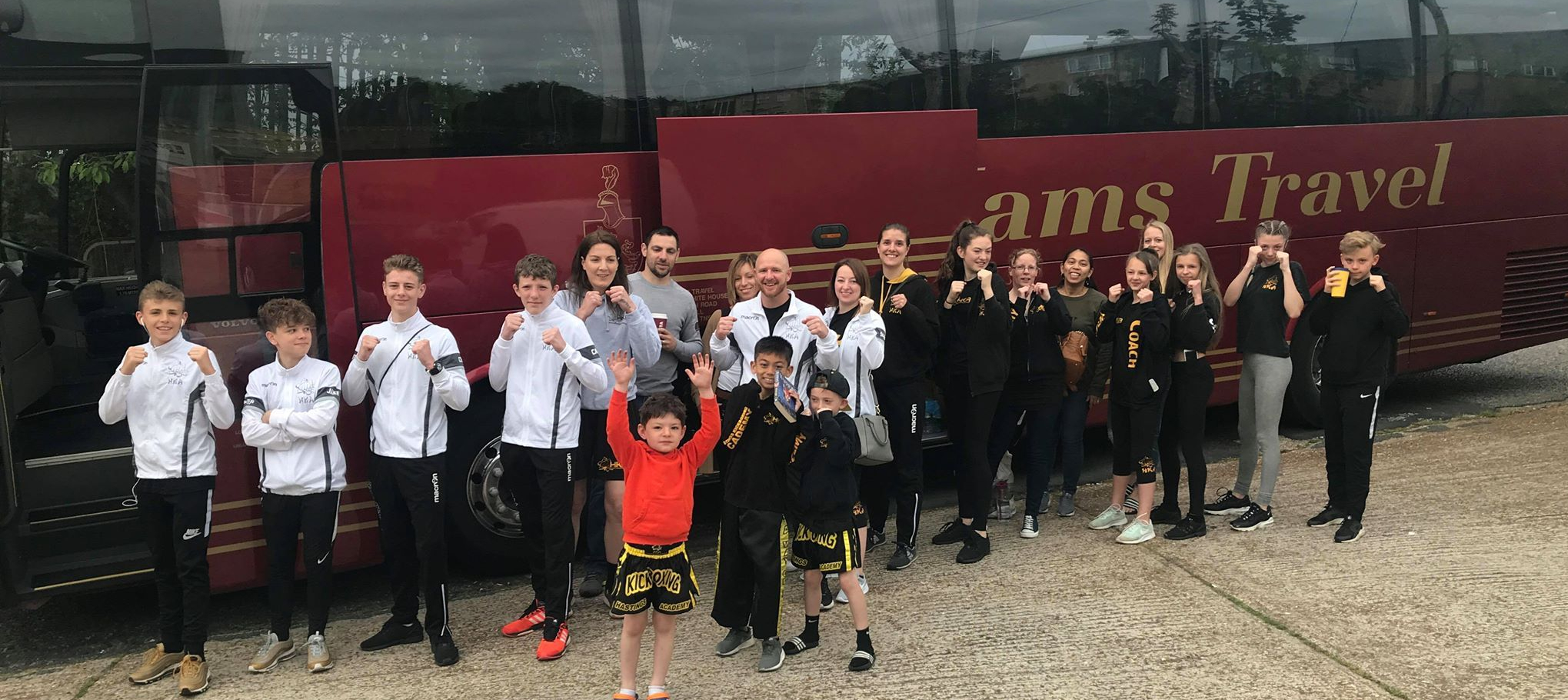 Awayday nets Hastings Kickboxing Academy FIVE new champions