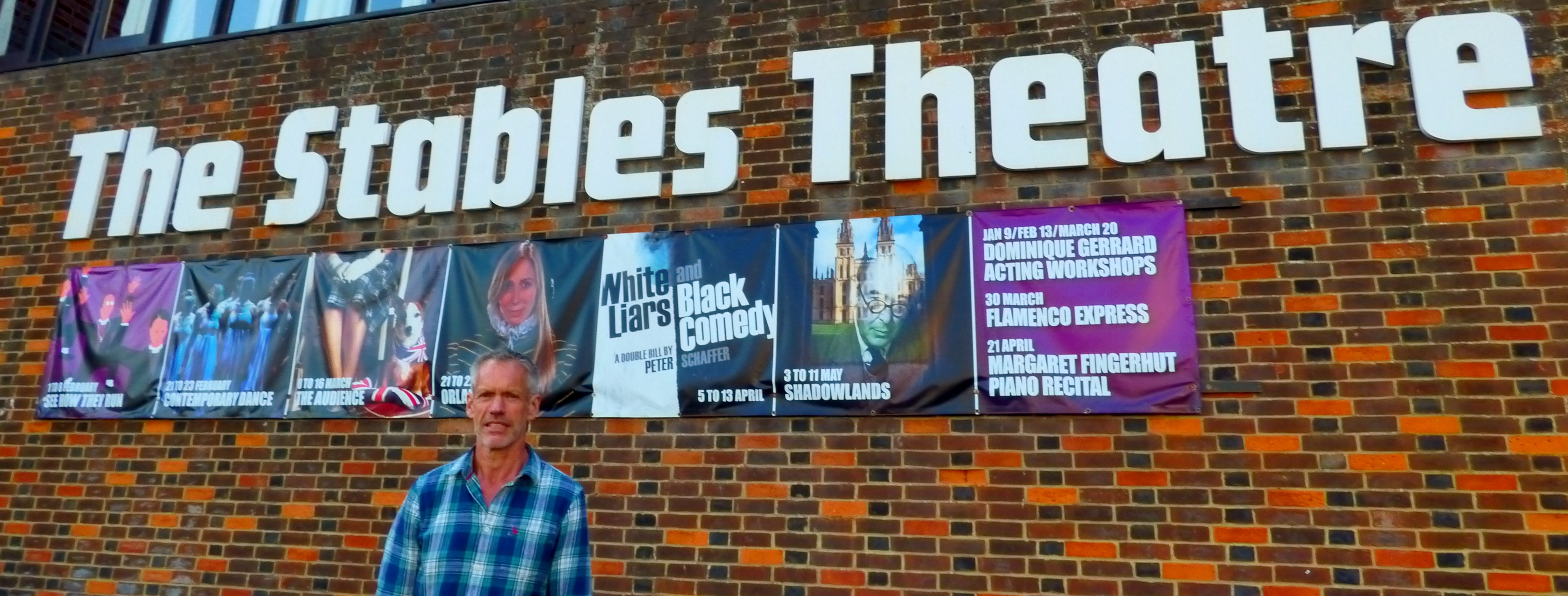 Making the theatre relevant – the new Stables Chairman gets to work