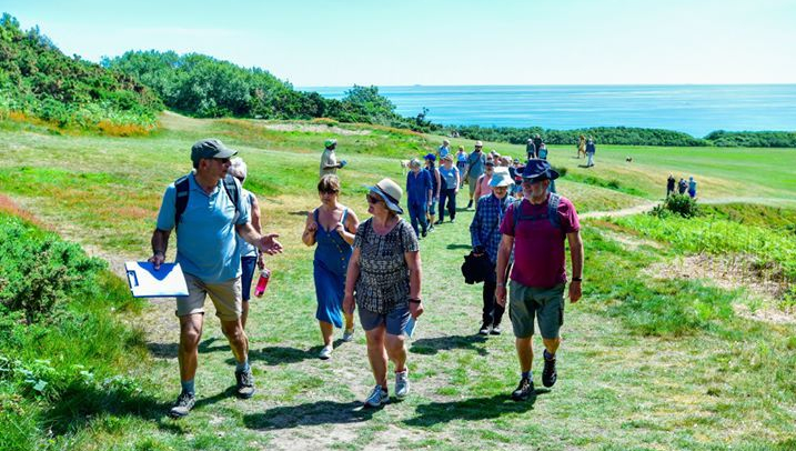 Greenway walkers enjoy day out in Hastings Country Park