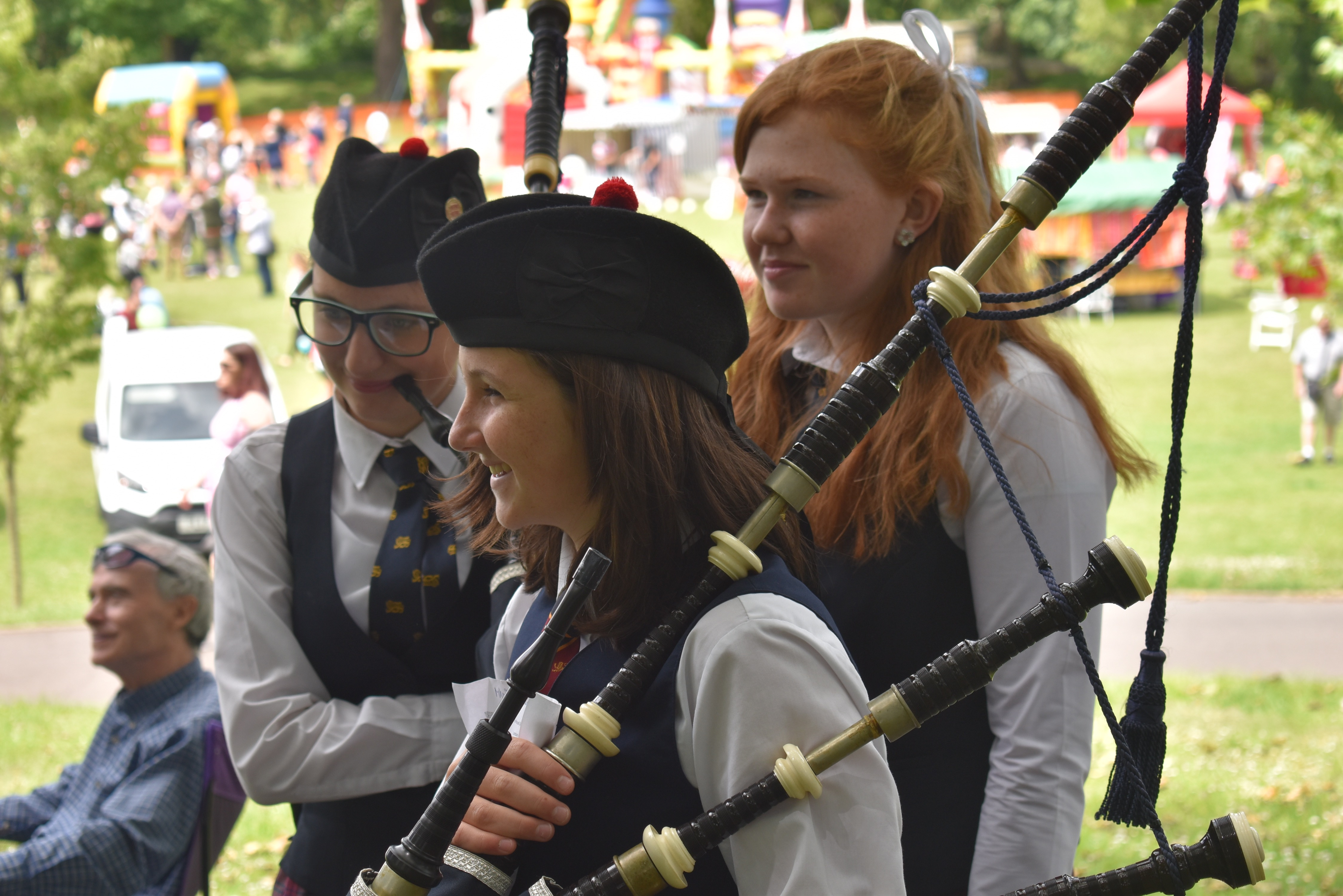 Buckswood bags a brace of firsts at Pipes in the Park