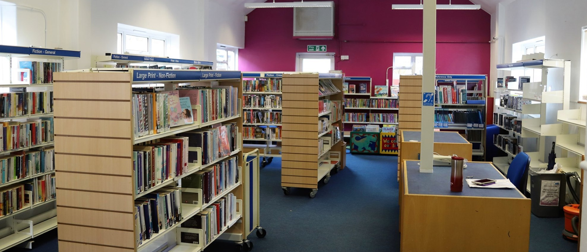 Bid to reopen Ore library is on the right track at last