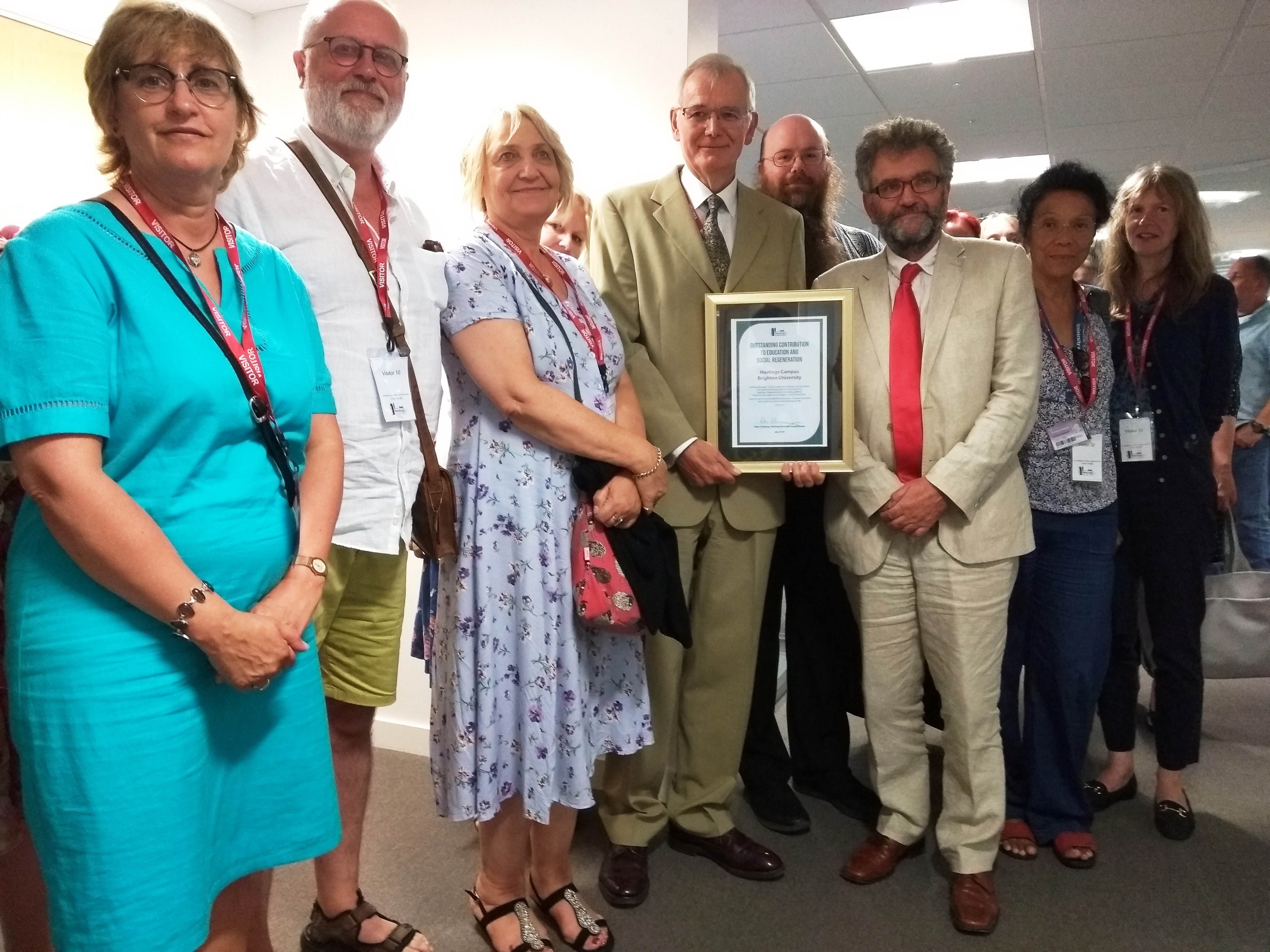 With 'thanks from a grateful town' – council marks closure of Hastings Campus
