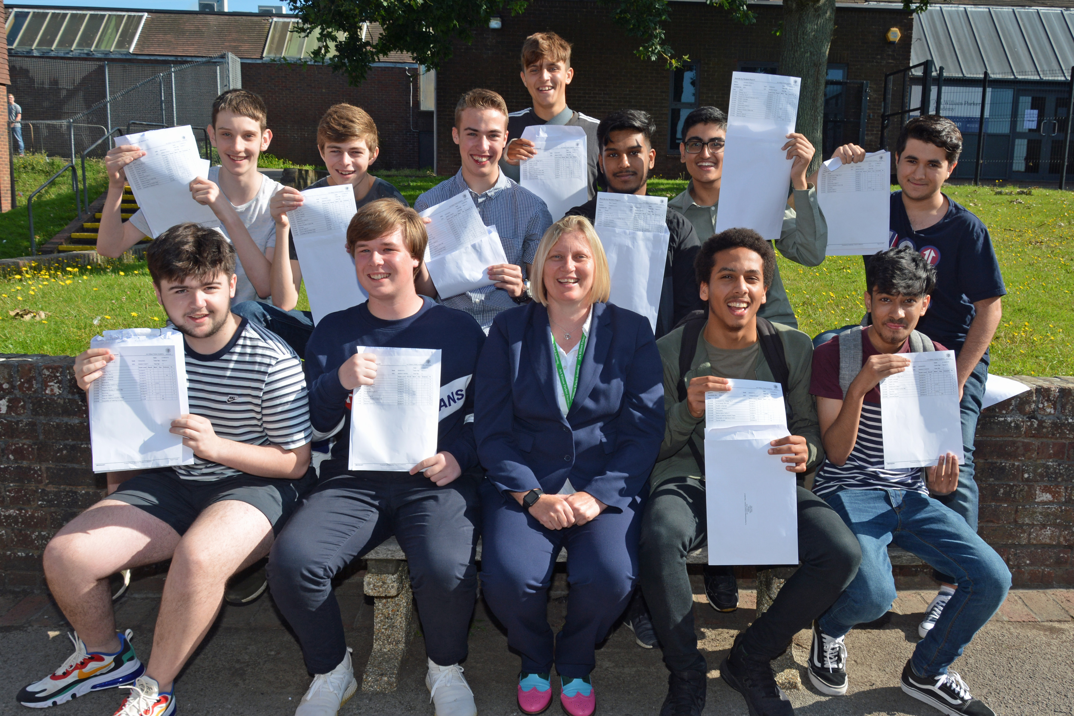 Celebrating exam success – great crop of GCSE results for local schools