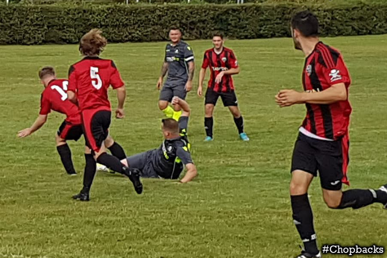 Chopbacks hold on in tough match and get through to second round
