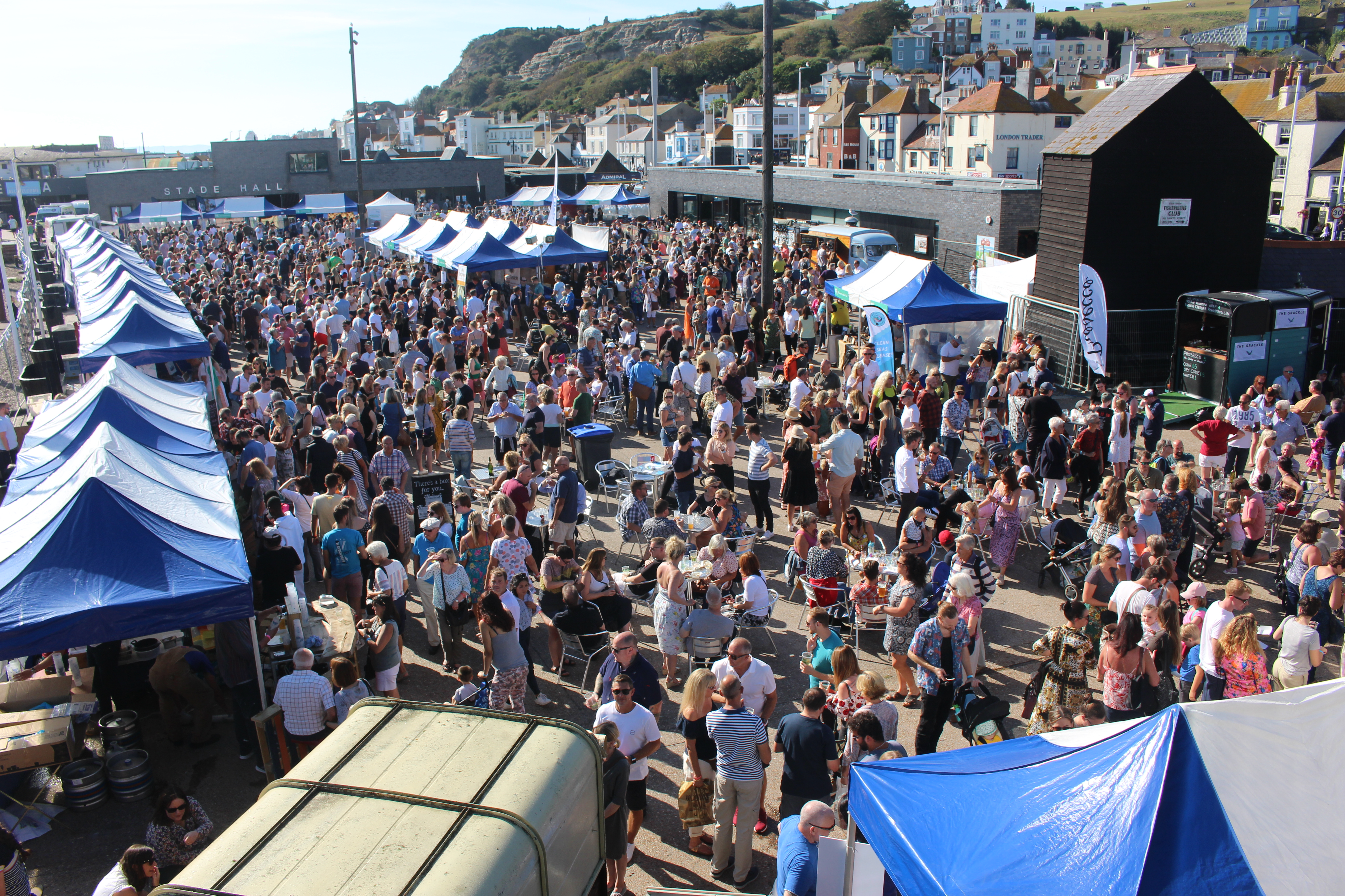 Bathed in sunshine seafood and wine festival hailed 'best yet'