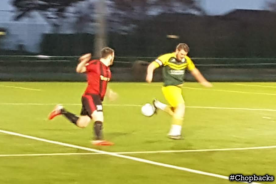 Tough match sees Chopbacks victorious despite being down to ten men