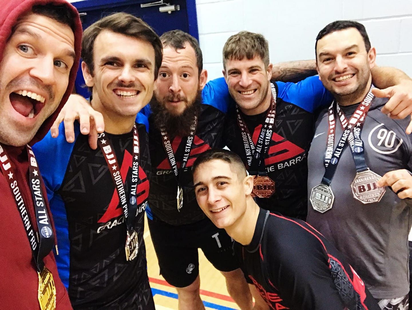 Dedication being rewarded with results – medal glory for Gracie Barra Hastings