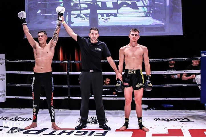 Marlon leaves big impression on the Pro K-1 rankings – and his opponent!