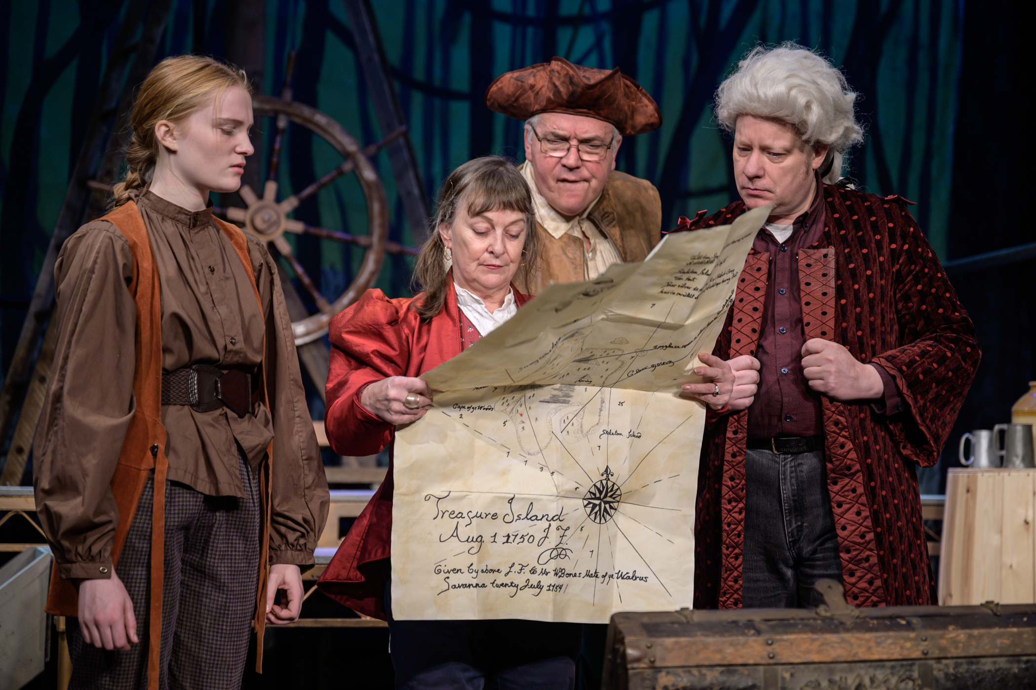 Treasure Island: 'a rollicking Christmas show' at Stables