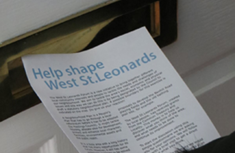 Power to the people… how you can help shape the future of West St Leonards!