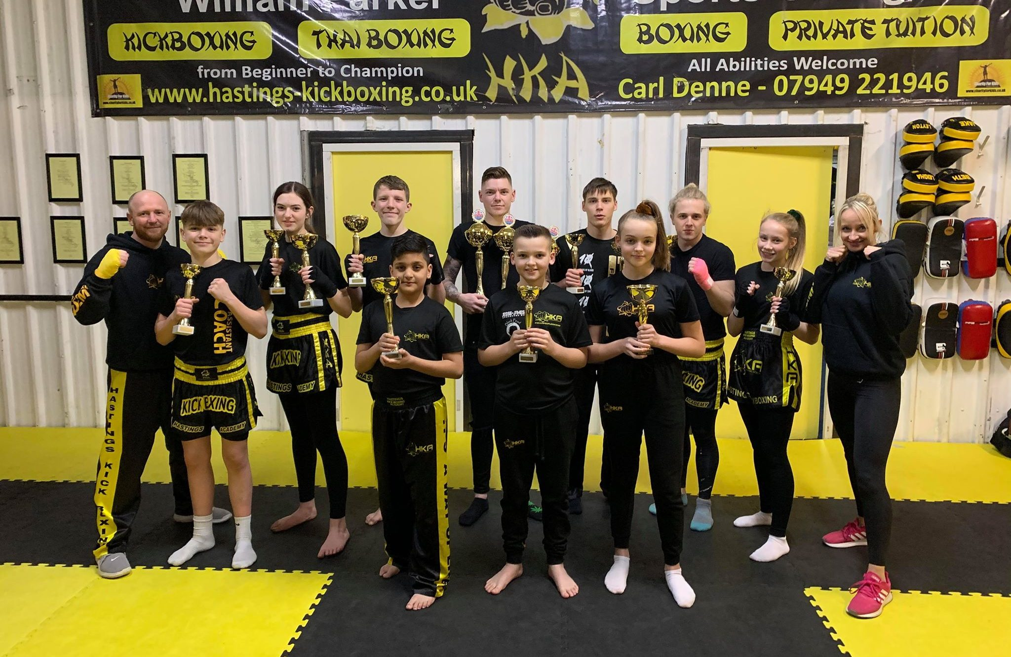 Big medal haul for HKA at ICO British Open in Birmingham