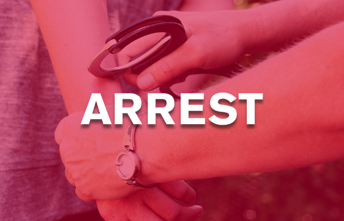 Man with gun arrested in White Rock Road