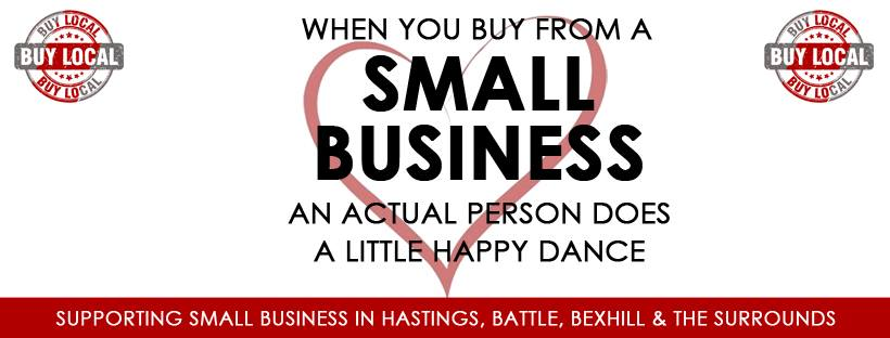 Think local, buy local and help secure the future for locally owned businesses in Hastings and Rother