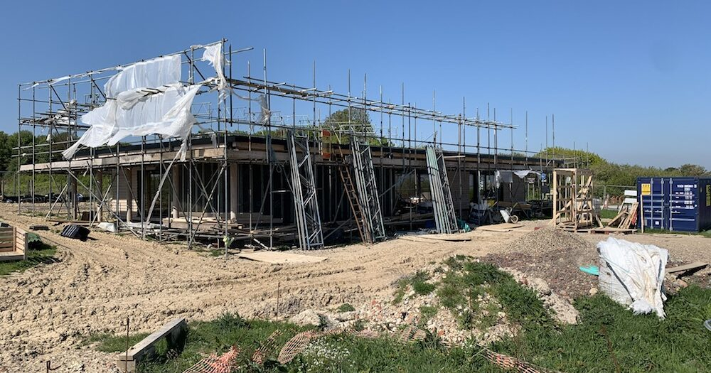 Country Park's new visitor centre hit by fresh delays as Covid-19 brings construction work to a standstill