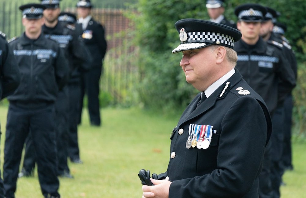 Chief Constable bows out leaving a 'compassionate, intelligent' force as his legacy