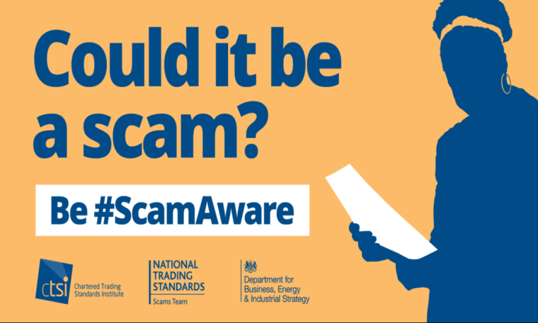 Watch out for scammers – local people have been conned out of £1.2m since lockdown began