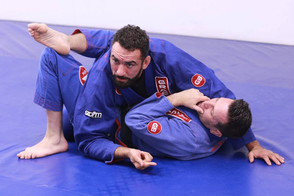 International experts share their skills with local fighters – just another lockdown day at Gracie Barra Hastings