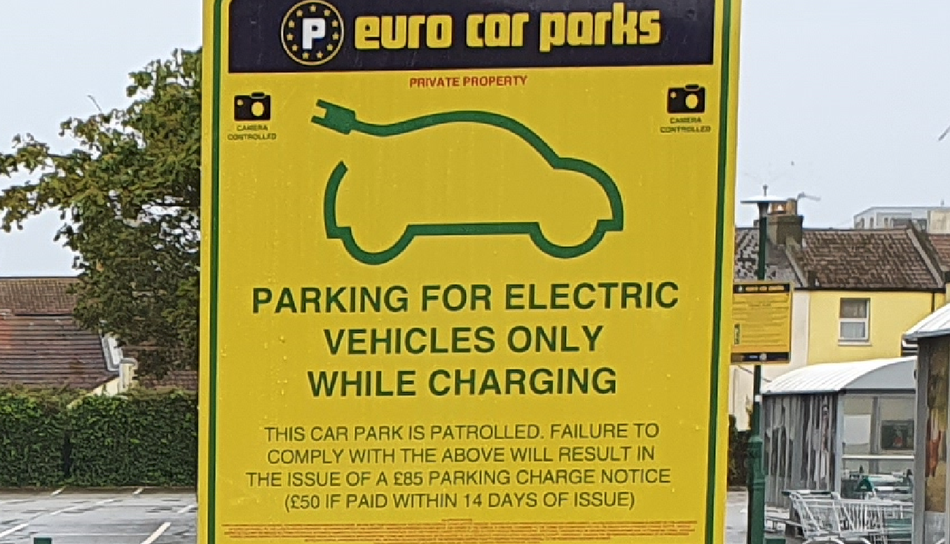 New electric vehicle charging station in Hastings