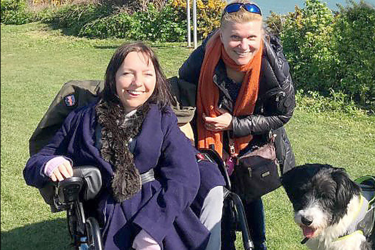 I've 'never felt more disabled' – rebuilding her shattered confidence, walkers aim to buy Esther a new wheelchair