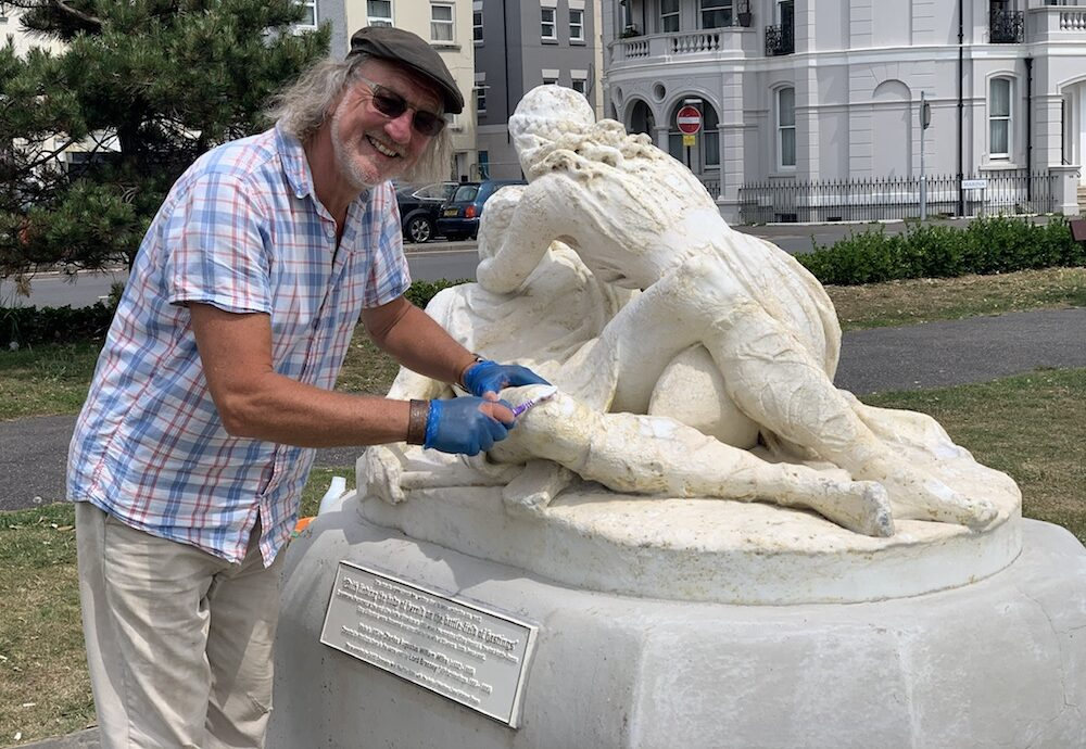 Ian's labour of love returns statue to a state more befitting its cultural significance