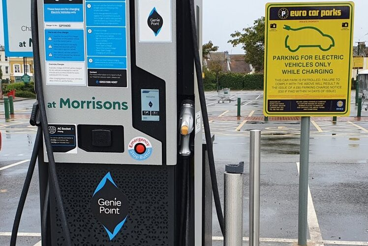 Better availability of charging points will encourage more people to buy electric says councillor