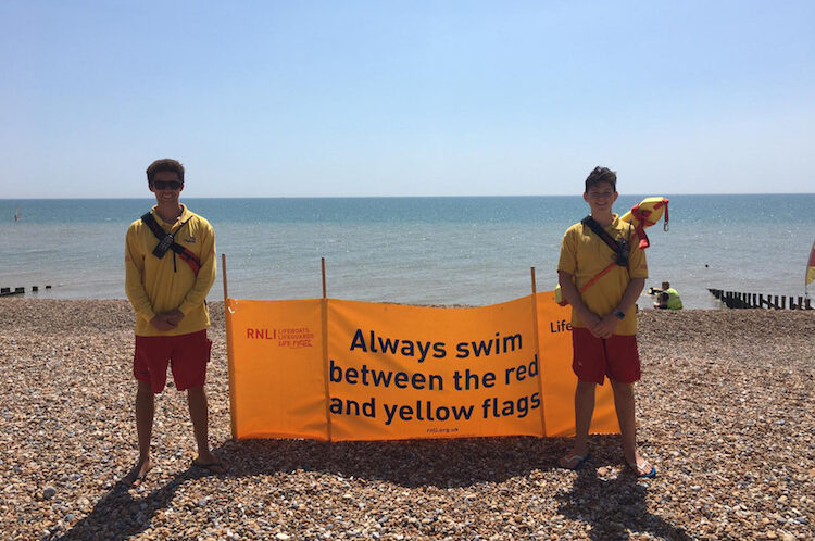 Saving lives is part of the job – RNLI lifeguards return to St Leonards beach