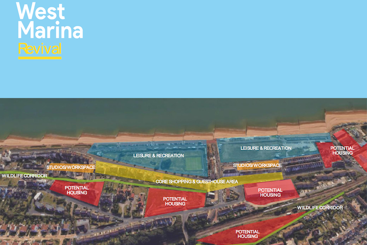 Project West Marina – reversing a decline and giving people a reason to go to the western end of the town again
