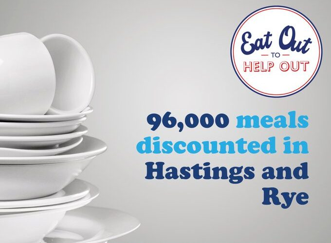 Eat Out to Help Out acclaimed a success in hastings and Rye
