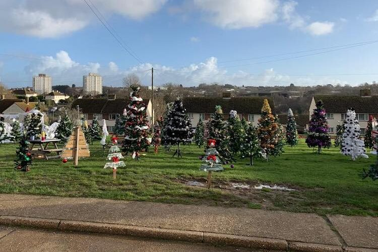 Hollington builds its very own Christmas wonderland