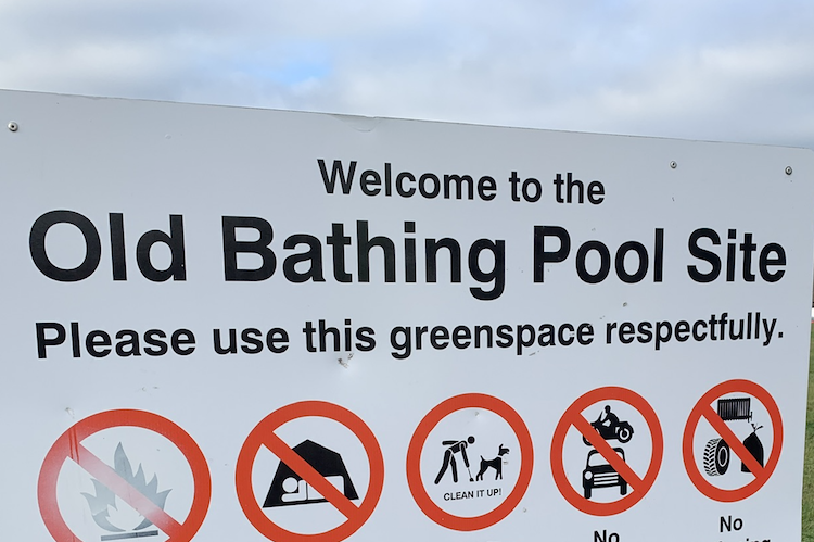 After council ignores their petition… 'Does local democracy need a defibrillator?' ask bathing pool site protestors