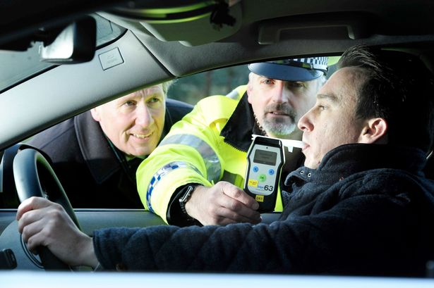 Drivers 'under the influence' brought to book!